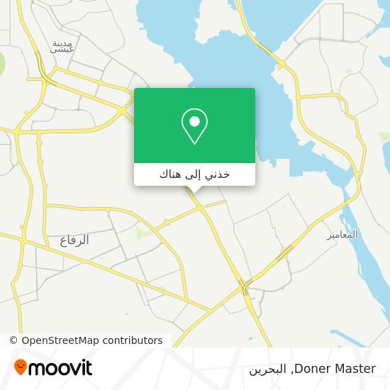 خريطة Doner Master