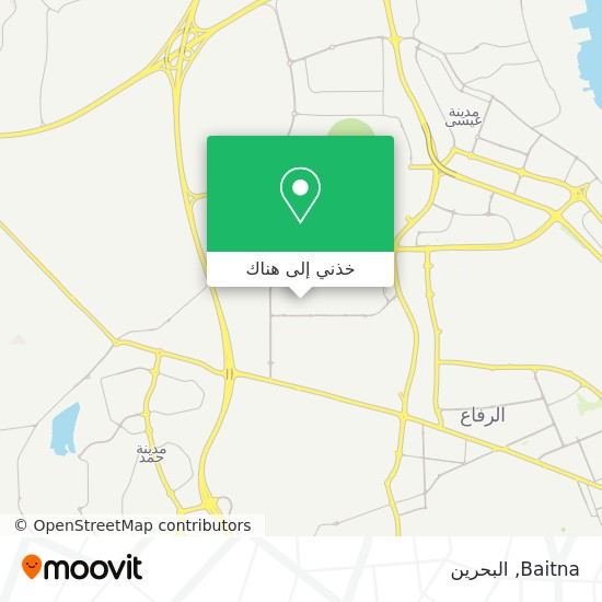 خريطة Baitna