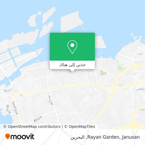 خريطة Rayan Garden, Janusan