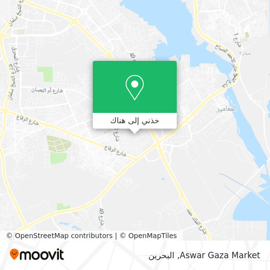 خريطة Aswar Gaza Market