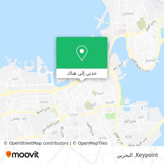 خريطة Keypoint
