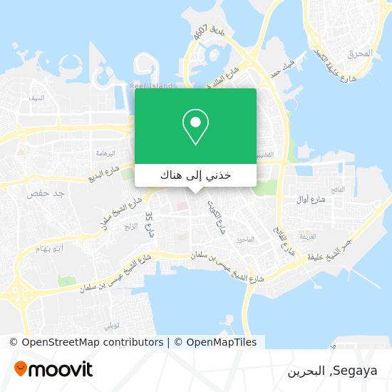 خريطة Segaya