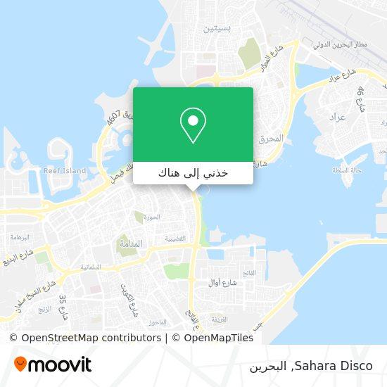 خريطة Sahara Disco