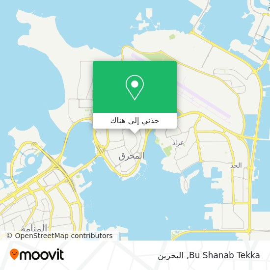 خريطة Bu Shanab Tekka