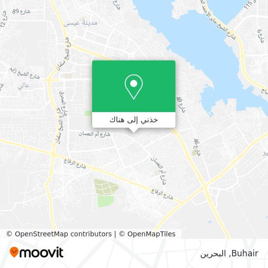 خريطة Buhair
