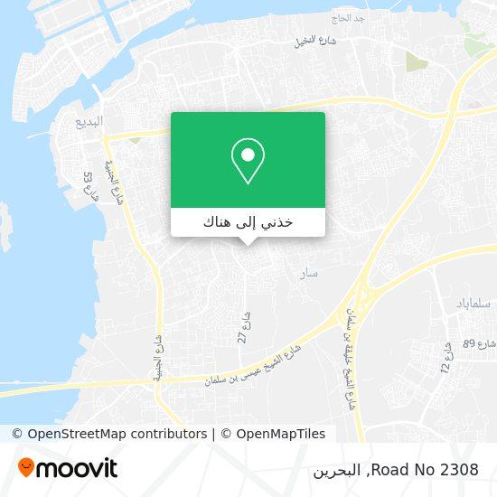 خريطة Road No 2308
