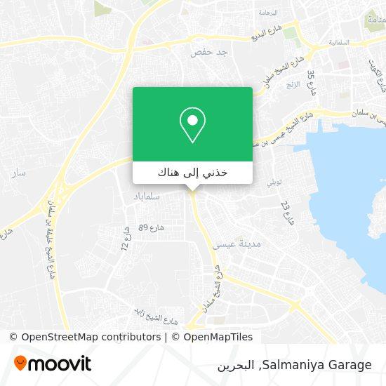 خريطة Salmaniya Garage