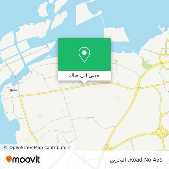 خريطة Road No 455