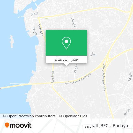 خريطة BFC - Budaya