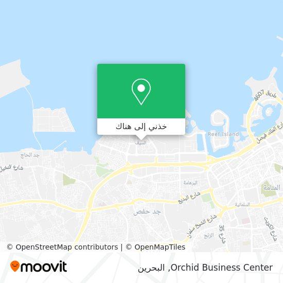 خريطة Orchid Business Center
