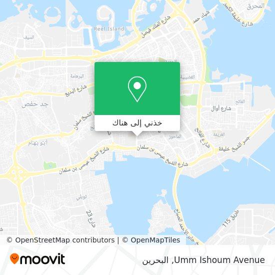 خريطة Umm Ishoum Avenue