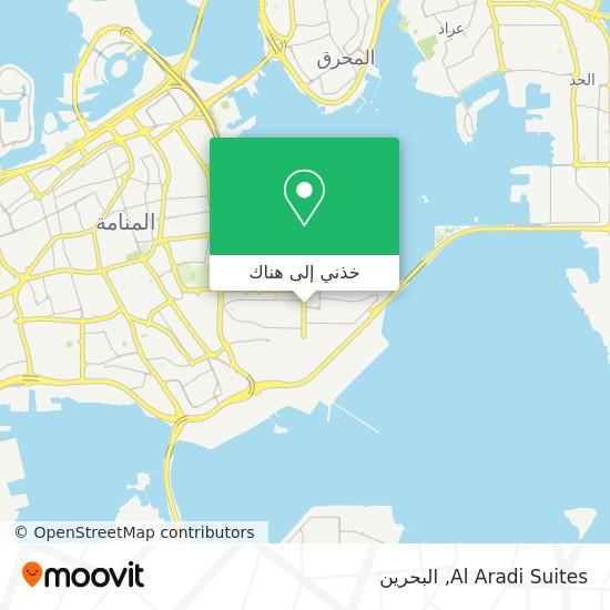 خريطة Al Aradi Suites