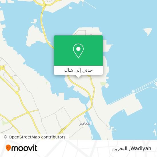 خريطة Wadiyah