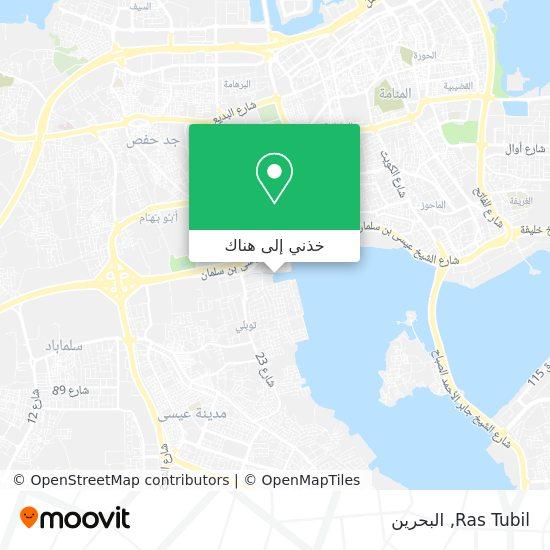 خريطة Ras Tubil