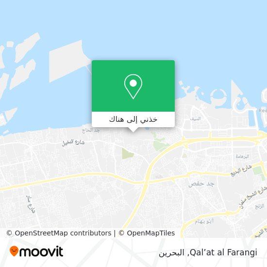 خريطة Qal'at al Farangi