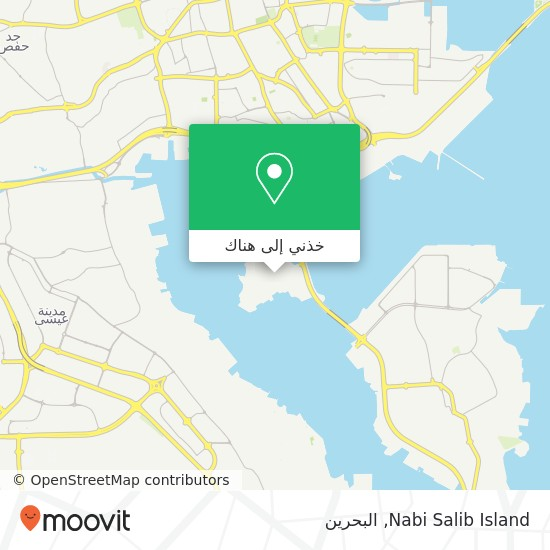 خريطة Nabi Salib Island