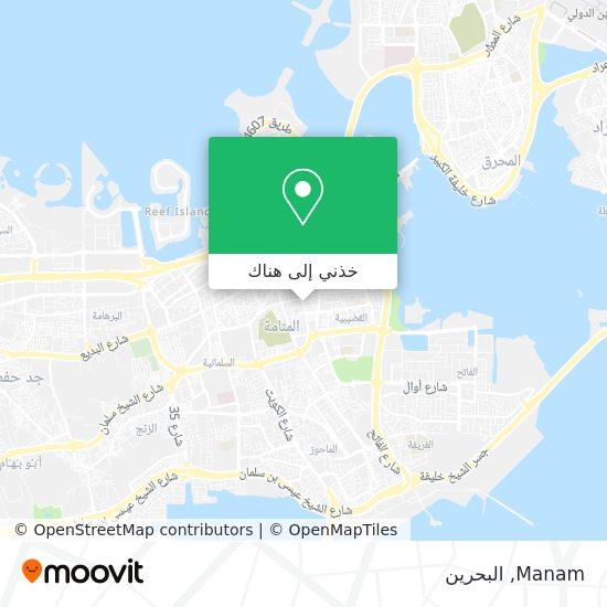 خريطة Manam