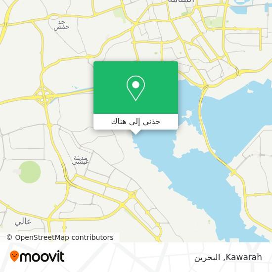 خريطة Kawarah