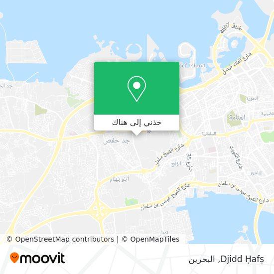 خريطة Djidd Ḥafṣ