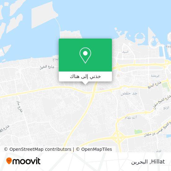 خريطة Hillat