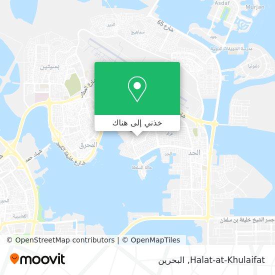 خريطة Halat-at-Khulaifat