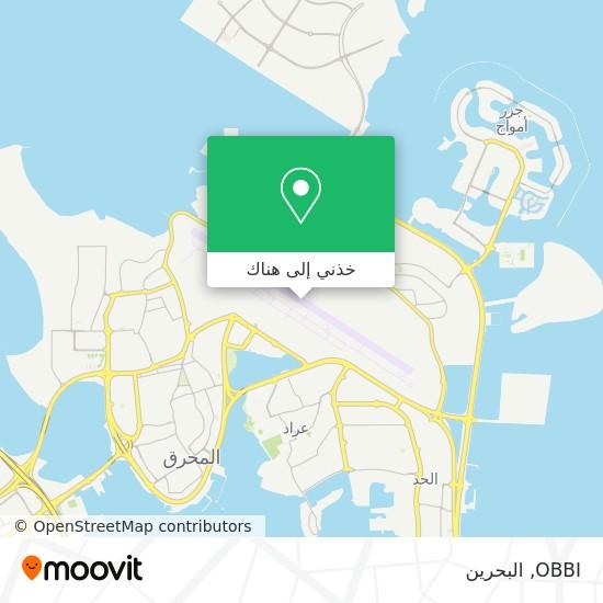 خريطة OBBI