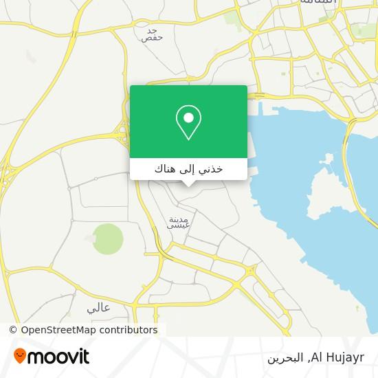 خريطة Al Hujayr