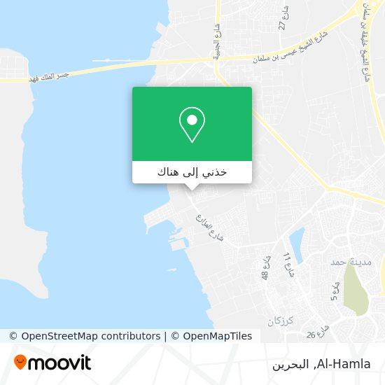 خريطة Al-Hamla