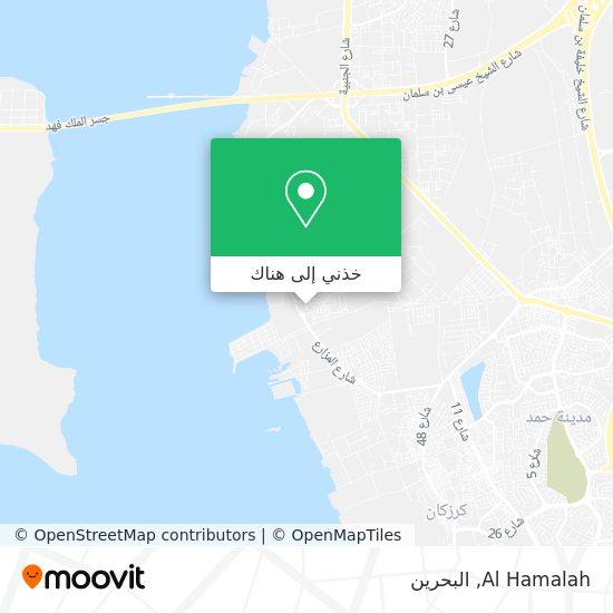 خريطة Al Hamalah