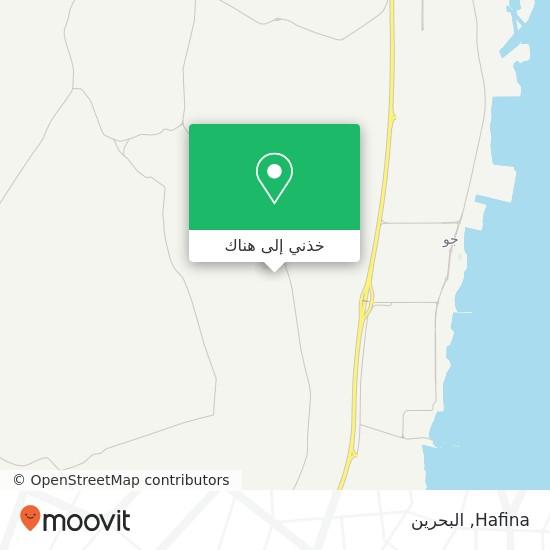 خريطة Hafina