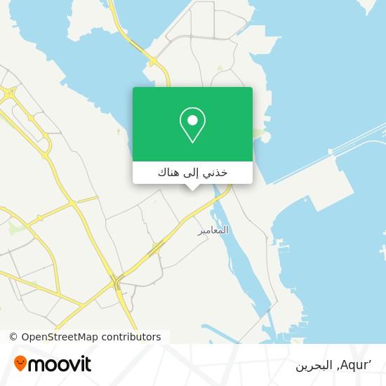 خريطة 'Aqur