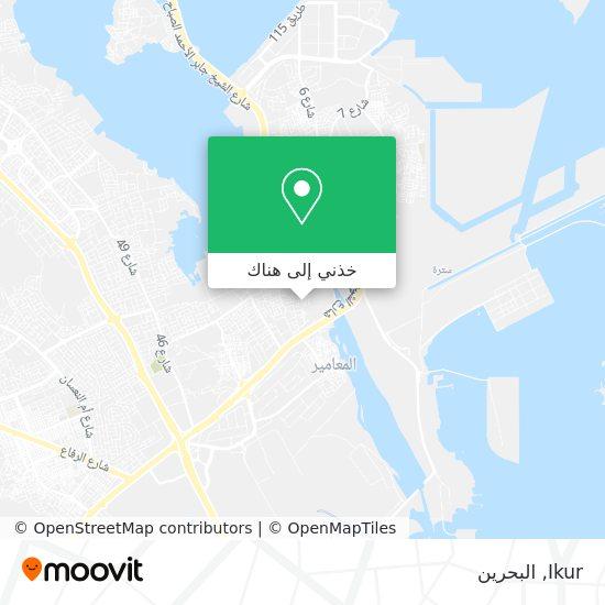 خريطة Ikur