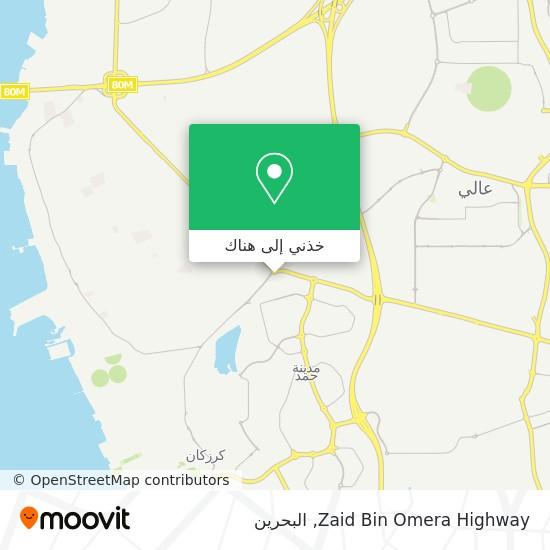 خريطة Zaid Bin Omera Highway