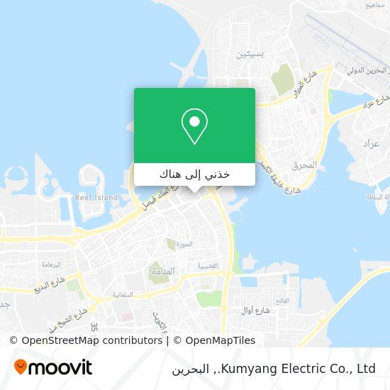 خريطة Kumyang Electric Co., Ltd.