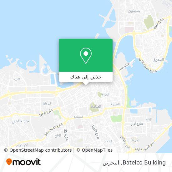 خريطة Batelco Building
