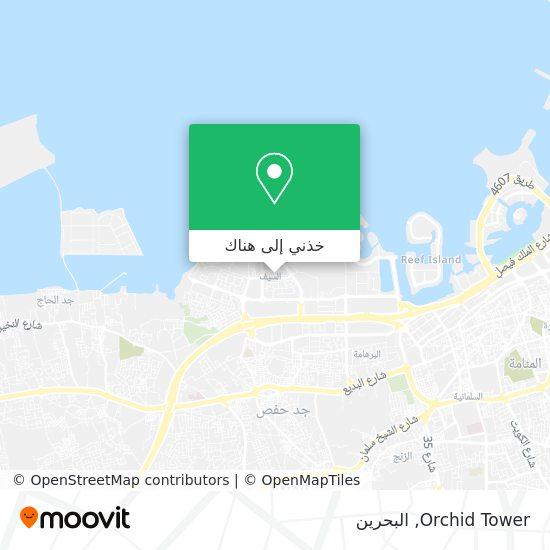 خريطة Orchid Tower