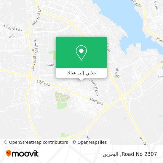 خريطة Road No 2307