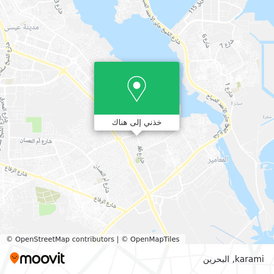 خريطة karami