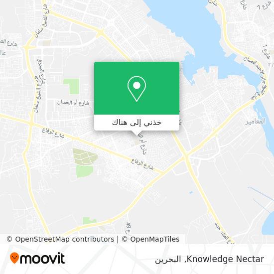 خريطة Knowledge Nectar