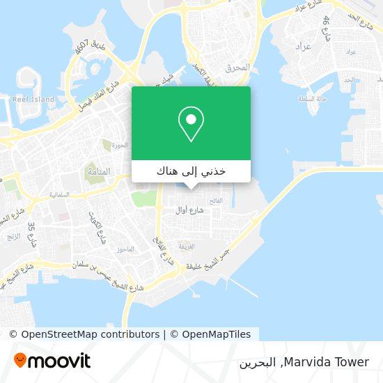 خريطة Marvida Tower