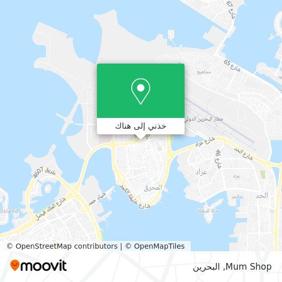 خريطة Mum Shop