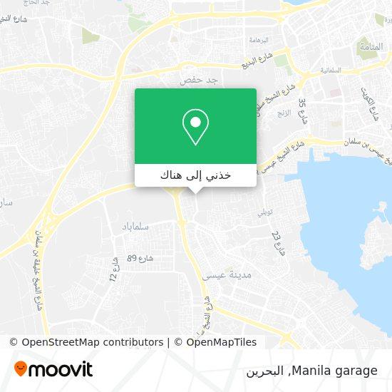 خريطة Manila garage