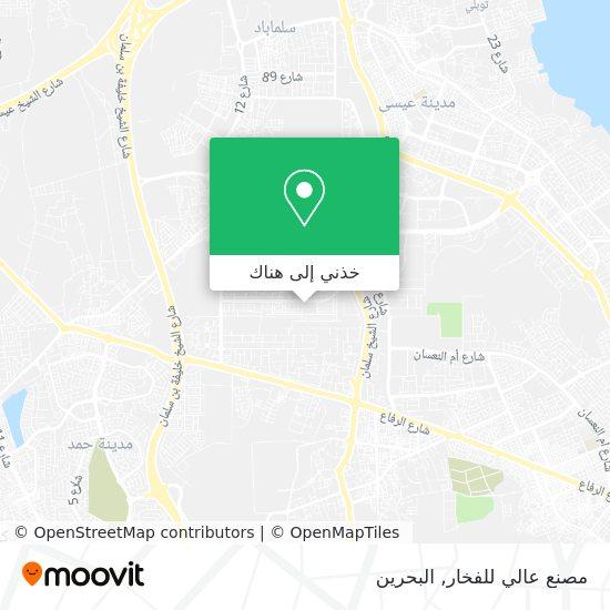 خريطة مصنع عالي للفخار