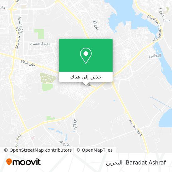 خريطة Baradat Ashraf