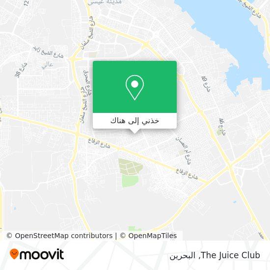 خريطة The Juice Club