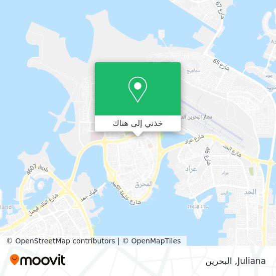 خريطة Juliana