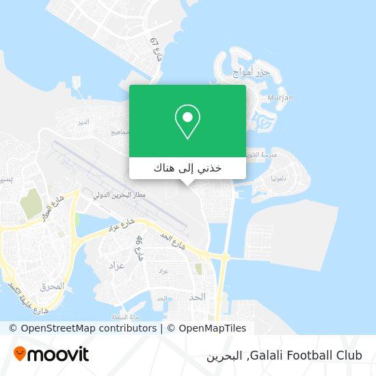 خريطة Galali Football Club