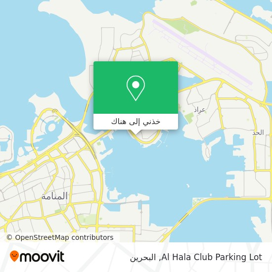 خريطة Al Hala Club Parking Lot