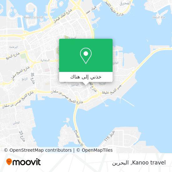 خريطة Kanoo travel