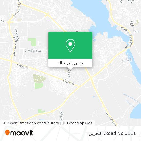 خريطة Road No 3111